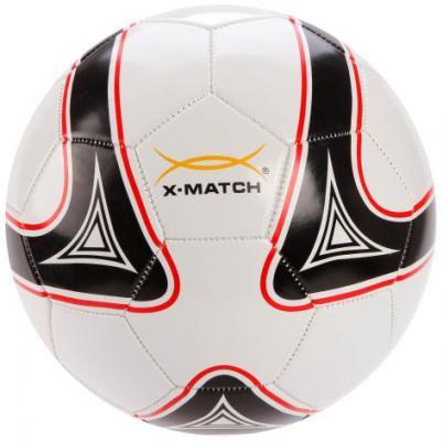 Мяч футбольный X-Match 56442 22 см в ассортименте цена