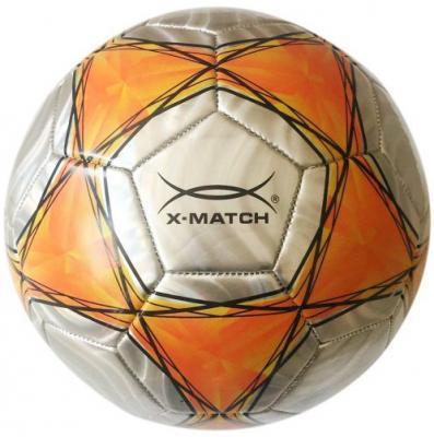 Мяч футбольный X-Match 56437 x match настольная игра хоккей x match 87909