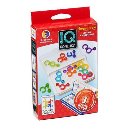 Купить Игра-головоломка BONDIBON IQ-Колечки от 5 лет, Головоломки для детей