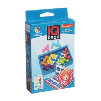 Купить Игра-головоломка BONDIBON IQ-Блок от 6 лет, Головоломки для детей