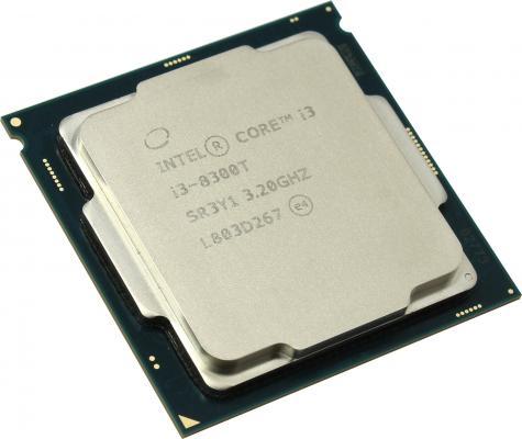 Процессор Intel Core i3-8300T 3.2GHz 8Mb Socket 1151 v2 OEM процессор intel core i3 8350k 4ghz 8mb socket 1151 v2 box