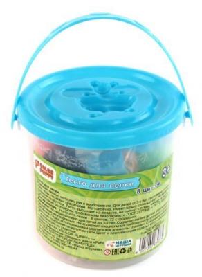 Набор для лепки из теста Color Puppy Тесто для лепки 8 цветов цена