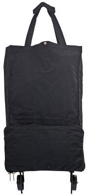 Сумка хозяйственная складная, с маленькими колесиками, размер сумки 30x15x50 см, ассорти 3 цвета AST2004