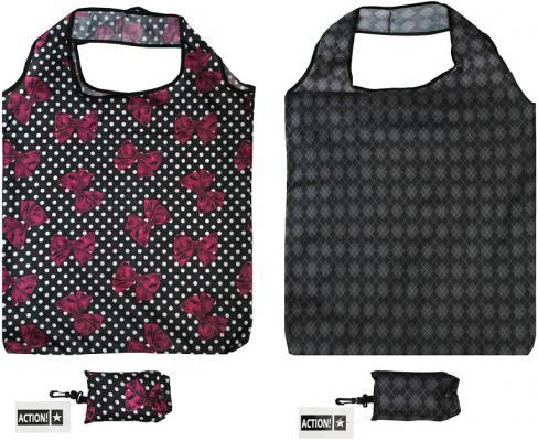 Сумка хозяйственная, разм.42 x 60 см, ассорти 2 цвета сумка хозяйственная любаша 60 50 30 см черно красный