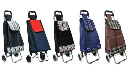 Сумка-тележка хозяйственная,на колесиках, размер сумки 32х23х57 см, ассорти 5 цветов сумка хозяйственная rolser на колесиках цвет verde 40 л