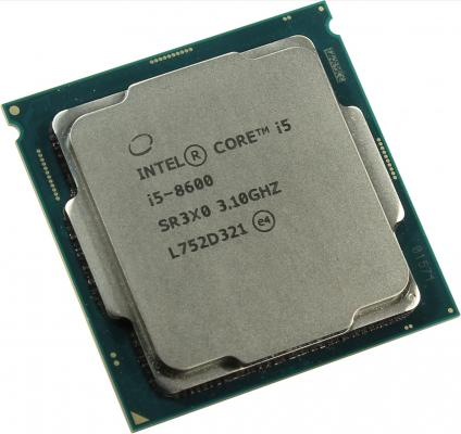 Процессор Intel Core i5-8600 3.1GHz 9Mb Socket 1151 v2 OEM процессор intel core i5 7500 oem