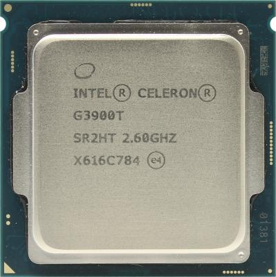 Процессор Intel Celeron G3900T 2.6GHz 2Mb Socket 1151 OEM процессор intel celeron g530 g530 cpu 2 4g