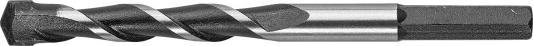 Сверло по камню ЗУБР 2916-120-10 СУПЕР-6 ударное HEX хвостовик 10x120мм цены