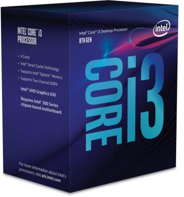 Процессор Intel Core i3-8300 3.7GHz 8Mb Socket 1151 v2 BOX компьютер dell optiplex 5050 intel core i3 7100t ddr4 4гб 128гб ssd intel hd graphics 630 linux черный [5050 8208]