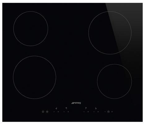 цены на Варочная панель электрическая Smeg SE364TD черный в интернет-магазинах