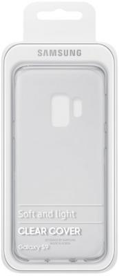 Чехол (клип-кейс) Samsung для Samsung Galaxy S9 Clear Cover прозрачный (EF-QG960TTEGRU) чехол для samsung galaxy s9 samsung clear cover ef qg960ttegru transparent