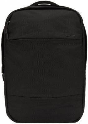 Рюкзак для ноутбука 15.6 Incase City Commuter нейлон полиэстер черный INCO100357-BLK сумка рюкзак универсальная incase tracto split duffel s нейлон черный intr20045 blk