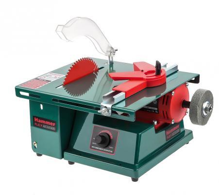 Станок многофункциональный Hammer Flex MFS900 900Вт 8500об/мин 150мм 300х227мм, насадки станок для заточки цепей hammer flex spl105