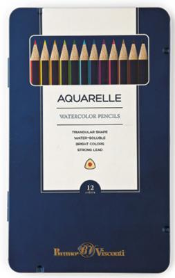 Набор цветных карандашей Bruno Visconti Multicolor 12 шт visconti vs 622 00f