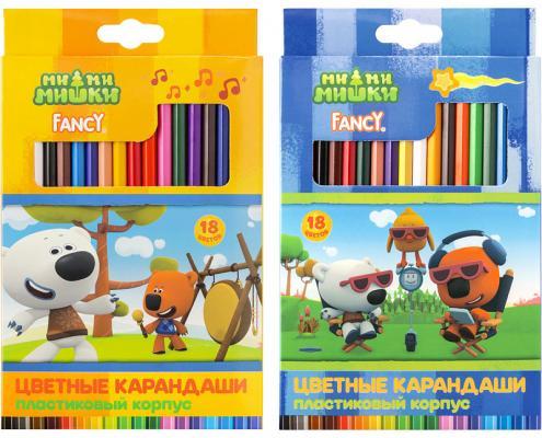 Набор цветных карандашей Action! Fancy 18 шт набор цветных карандашей action hello kitty 18 шт
