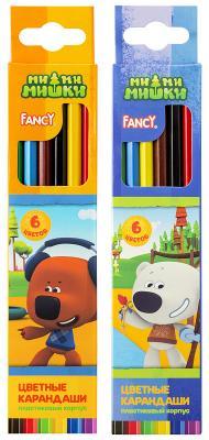 Набор цветных карандашей Action! Fancy 6 шт action 6 шт металлик fancy