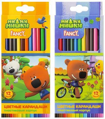 Набор цветных карандашей Action! Fancy 12 шт цена