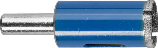 Купить Сверло ЗУБР 29860-18 ЭКСПЕРТ алмазное трубчатое по стеклу зерно 100 18мм, Зубр