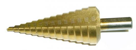 Сверло по металлу SKRAB 30162 ступенчатое 4-30мм 14ступ.TiN сверло archimede ступенчатое 4 20х75 мм