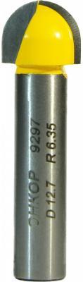 Фреза ЭНКОР 9297 паз галтельная ф12.7х10мм R6.35мм хв8мм цена