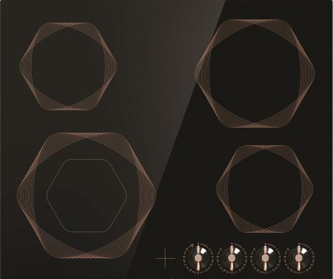 Картинка для Варочная панель электрическая Gorenje EC642INB черный