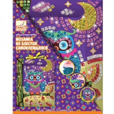 Купить Мозаика из блесток самоклеящаяся СВЕРКАЮЩИЕ ПЛИТКИ , Fancy Creative