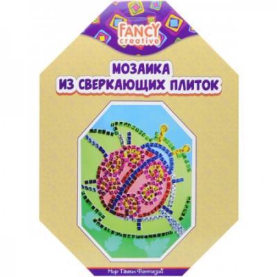 Купить Набор для творчества Мозаика Сверкающие плитки, 19х26 см, коробка с е/п, Fancy Creative