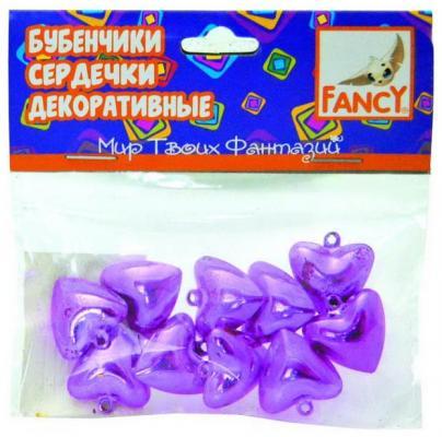 Набор для творчества fancy creative Бубенчики-сердечки от 5 лет 10 шт цена