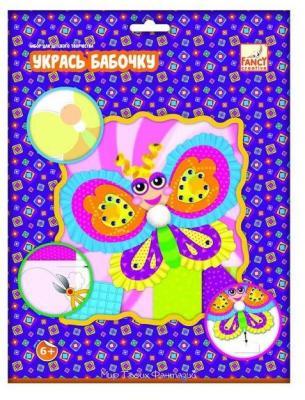 Набор для аппликаций Fancy Creative Укрась бабочку от 6 лет