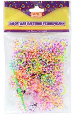 Набор для плетения fancy creative Радужные резиночки 600 шт
