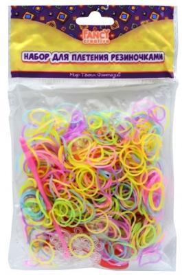 Набор для плетения fancy creative Резиночки-светяшки 600 шт FD030066
