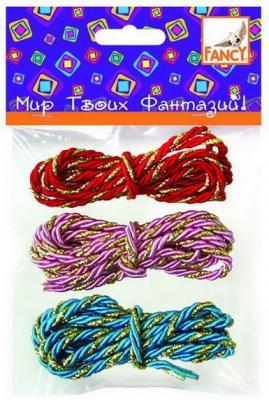 Набор для творчества fancy creative Шнур-плетенка от 5 лет 3 шт