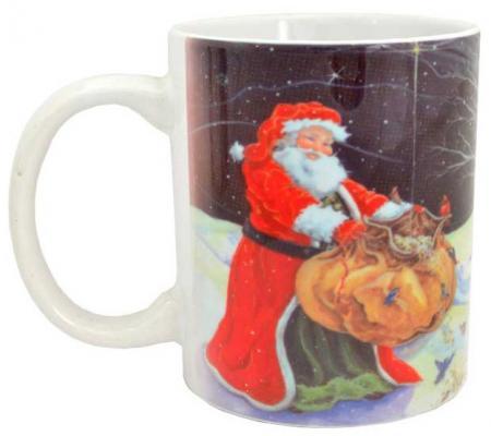 Кружка Winter Wings Дед Мороз с подарками