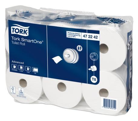 Бумага туалетная Tork 472242 2-ух слойная 1 шт
