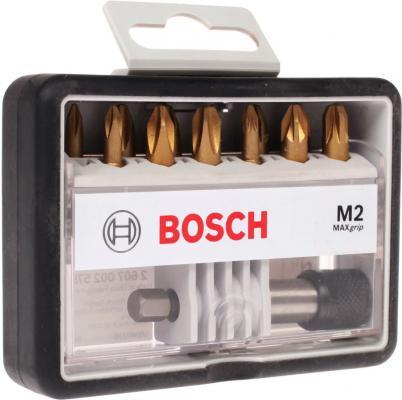 Набор бит BOSCH Robust Line Max Grip Ph/Pz 25 мм, 12 шт. (2.607.002.578) Ph/Pz, 25мм, 12шт. +держат