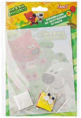 Набор для твочества FANCY Аппликация из скрученной бумаги, 13*17 см, хедер с е/п е в селезнева цветы и игрушки из скрученной бумаги квиллинг для малышей