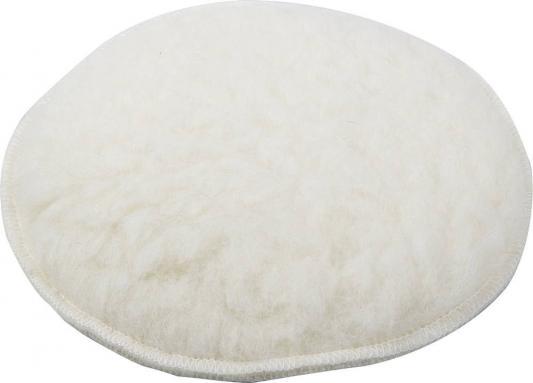 Круг полировальный ЗУБР 3596-125 из натурального меха на липучке 125мм круг полировальный зубр 3593 180