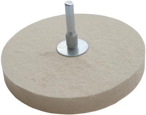 Круг полировальный FIT 38703 круг полировочный фетровый 115мм все цены