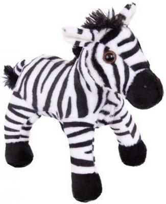 Мягкая игрушка зебра Fluffy Family Зебра искусственный мех белый черный 18 см 681435 zildjian s family thin crash 16