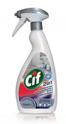 Средство чистящее CIF Washroom 2 в 1, для туалетных комнат, 750 мл
