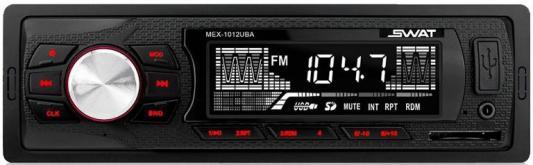 Автомагнитола Swat MEX-1012UBA 1DIN 2x35Вт чехол для для мобильных телефонов for huawei huawei 6 huawei 6 oem honor6 budingke