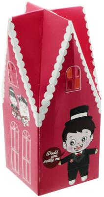 Коробка подарочная складная, 4,4*4,4*10,8 см коробка складная sima land заяц с барабаном 17 х 17 х 12 5 см