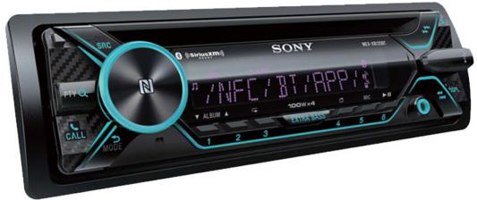 Автомагнитола CD Sony MEX-N5200BT 1DIN 4x55Вт