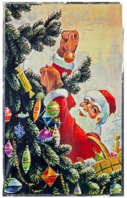 Купить Мешок для упаковки подарков, 247х400 мм, ПВХ, Winter Wings, Подарочные пакеты