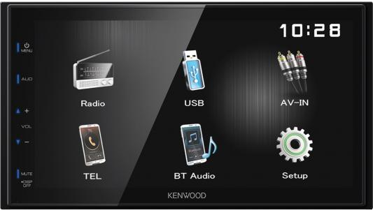 Автомагнитола Kenwood DMX110 2DIN 4x50Вт автомагнитола kenwood dmx110