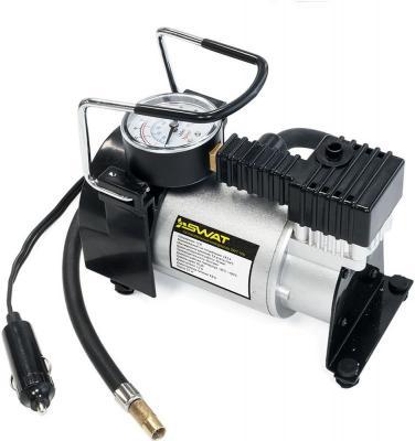Автомобильный компрессор Swat SWT-106 60л/мин шланг 1м автомобильный компрессор swat swt 106 60л мин шланг 1м