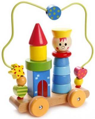 Купить Лабиринт-пирамидка Мальчик на колесиках, Mapacha, Развивающие центры для малышей