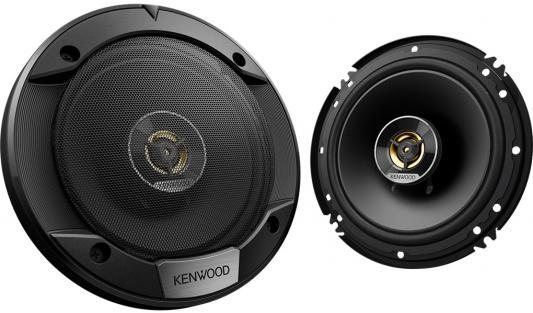 Колонки автомобильные Kenwood KFC-S1676EX 330Вт 87дБ 4Ом 16см (6.5дюйм) (ком.:2кол.) коаксиальные двухполосные колонки автомобильные kenwood kfc s1676ex