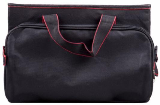 Органайзер в багажник Ritmix RAO-1203 черный/красный 25x60x35см (упак.:1шт) органайзер в багажник ritmix rao 1552 черный красный