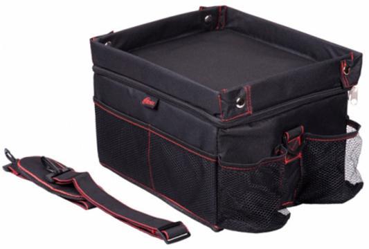 Органайзер в багажник Ritmix RAO-1671 черный/красный 21x30x25см (упак.:1шт) органайзер в багажник ritmix rao 1552 черный красный